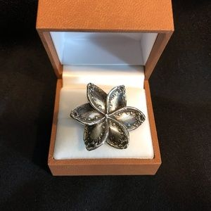 *UNIQUE* Flower Spoon Ring - Adjustable Size